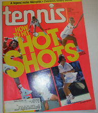 Tennis Magazine Pirouette Backhand & How To Hit Hot Shots August 1990 122014R2