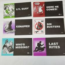 1 LOT OF 6 CHICK CHRISTIAN/ GOSPEL TRACTS - FROM JACK CHICK PUBLICATIONS