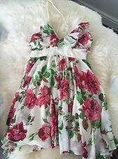 Lipsy London Flowers Summer Dress Size 10