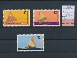 LO44960 Marshall Islands 1993 boats sailing ships fine lot MNH cv 20 EUR