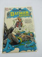 Detective Comics #396 BATMAN AND BATGIRL DC 1970 Neal Adams Cover FN