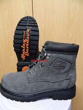 Harley-Davidson Boots Stiefel Schuhe Damen Leder 39 oder 40 83366 Bayport grau