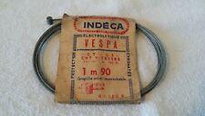 Cable Indéca pour vélo ou vélomoteur VESPA GT GS CHT Vitesses 1m90 15/10°