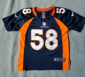 Nike NFL Youth Small Denver Broncos Von Miller #58 Alternate Replica Jersey