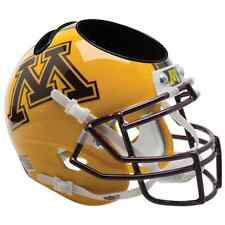 MINNESOTA GOLDEN GOPHERS NCAA Schutt Mini Football Helmet DESK CADDY