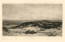 """Elihu Vedder / S. A. Schoff etching """"The Sea Serpent"""""""