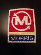 Vtg Morris Industries Embroidered Patch Sew On Farm Tractor Farming Industrial