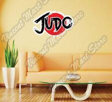 """Judo Martial Arts MMA Fighting Japan Wall Sticker Room Interior Decor 25""""""""X20"""""""