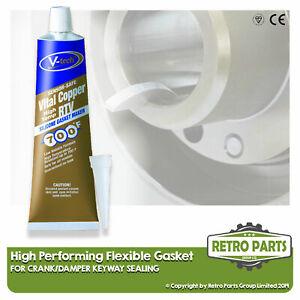 Crank/Damper Keyway Sealing Flexible Pro Gasket For Aston Martin. Seal Fix Diy