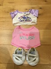 Build a Bear Clothing - Gym T shirts and Shoes