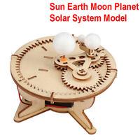 Astronomy Gifts Sun Earth Moon Planet Solar System Model DIY Kids GeographyNW0E