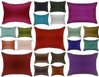 Lumbar Pillow Cover with Plain Zipper -Travel / Toddlers / Cot Pillow Case
