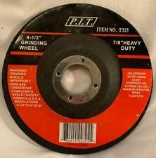 "New listing P. I. T. 4 1/2"" x 1/4"" x 7/8"" Griinding Wheel *  00004000 Heavy Duty * Brand New"