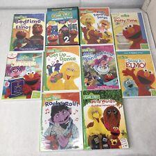 Large Sesame Street DVD Lot