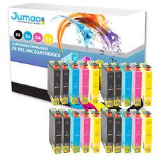 20 T0711-T0714 (8BK,4C,4M,4Y) Cartouche Jumao compatible Epson D78-DX4000-DX4050