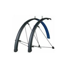 SKS Bluemels Stingray Bicycle Fender Set // 700c // 45mm // Blue/Black