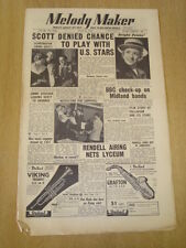 MELODY MAKER 1954 JUNE 26 SARAH VAUGHAN BBC PENNY NICHOLLS SAPPHIRES JAZZ SWING