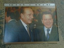 original Schröder & Chirac +   - Politik