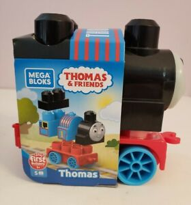 NWT Mega Bloks Thomas 5 Piece Buildable THOMAS THE TANK ENGINE Train DXH48