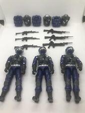 Black Major Custom Blue Steel Brigade C 3Fig Lot