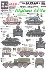 Star Decals 1/35 AFGHAN AFVs Northern Alliance, Taliban, & Afghanistan Army