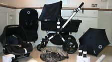 BUGABOO CAMELEON 3 PRAM, MAXI COSI PEBBLE & ACCESSORIES Immaculate & New Fabrics