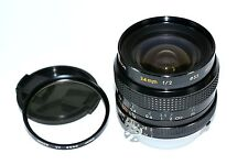NIKON KIRON 24MM F2 WIDE ANGEL LENS **FAST LARGE APERTURE F/2 **MADE IN JAPAN**