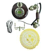 Antikes Designer Telefon Nostalgietelefon Altes Fernrohr uralt Telephon aus W9K2