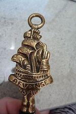 """VINTAGE ENGLISH  BRASS BOTTLE OPENER …GALLEON SHIP """"THE REVENGE"""""""