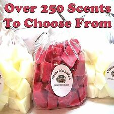100 Tarts Candle Wax Tart Melts Chunks Chips for Warmers CHOOSE 5 SCENTS