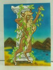 """Greek Goddess Humboldt"" by Jack Cavanaugh Furry Hand Drawn Art RARE"