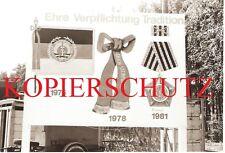27. FOTO DDR Schautafel des Eisenbahnbauregimentes Erich Steinfurth.