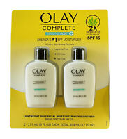 Olay Complete Sensitive 6 FL OZ, SPF 15, 2-Pack New in Package Sensitive Plus