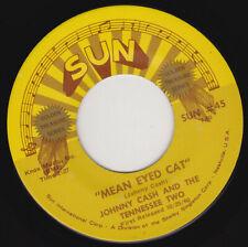 "JOHNNY CASH - Mean Eyed Cat  7"" 45"