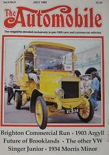 The Automobile magazine Vol.6, No.5 07/1988 featuring Morris, Argyll, Singer