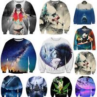Men's Women's 3D Print UGLY Sweater Sweatshirt Jacket Coat Pullover Graphic Tops
