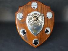 Vintage Darts Shield Trophy Board
