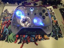 Custom Blue LED Xbox One Controller