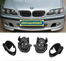 Nebelscheinwerfer Set Klarglas Chrom BMW 3er E46 Limousine Touring für M Paket