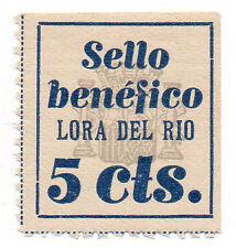 Sello Local Guerra Civil Lora del Rio -Cat. Galvez 417.  ORD:1521