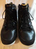 Men Nike Air Jordan 9 Retro Basketball Shoes/ Sneakers -Black Infrared, Size:10M