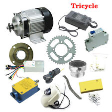 Unique Electric Tricycle Bicycle Brushless Gears Motor DIY Conversion Kit UC913