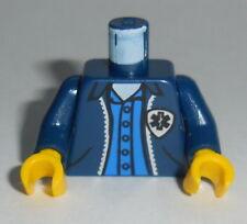 TORSO M062 Lego Male Dk Blue Jacket w/ Blue Undershirt NEW EMT Star of Life