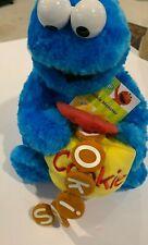 GUND Sesame Street Feed Me Cookie Monster with Jar & Cookies Plush - RARE NWT