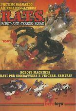 X2417 BEROTOYS - Rats Robot Machines - Pubblicità 1986 - Advertising