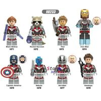 8 Pcs MARVEL MINI FIGS THE AVENGERS FIT LEGO  ANT-MAN IRON MAN CAPTAIN AMERICA