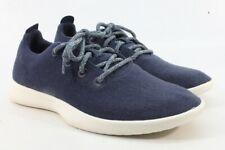 Allbirds Men's Wool Runners Tuke Midnight/Cream Sole Comfort Shoes FLSAMP