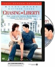 Chasing Liberty (DVD, 2004, Full-Screen) Mandy Moore WORLD SHIP AVAIL