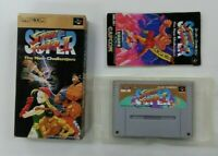 STREET FIGHTER 2 Ⅱ  Nintendo Super Famicom with box  SFC SNES Japan USED