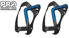 2x PRO Alloy Bottle Cage Bicycle Bottlecage Bike Bidon BLACK/BLUE PRBC0013